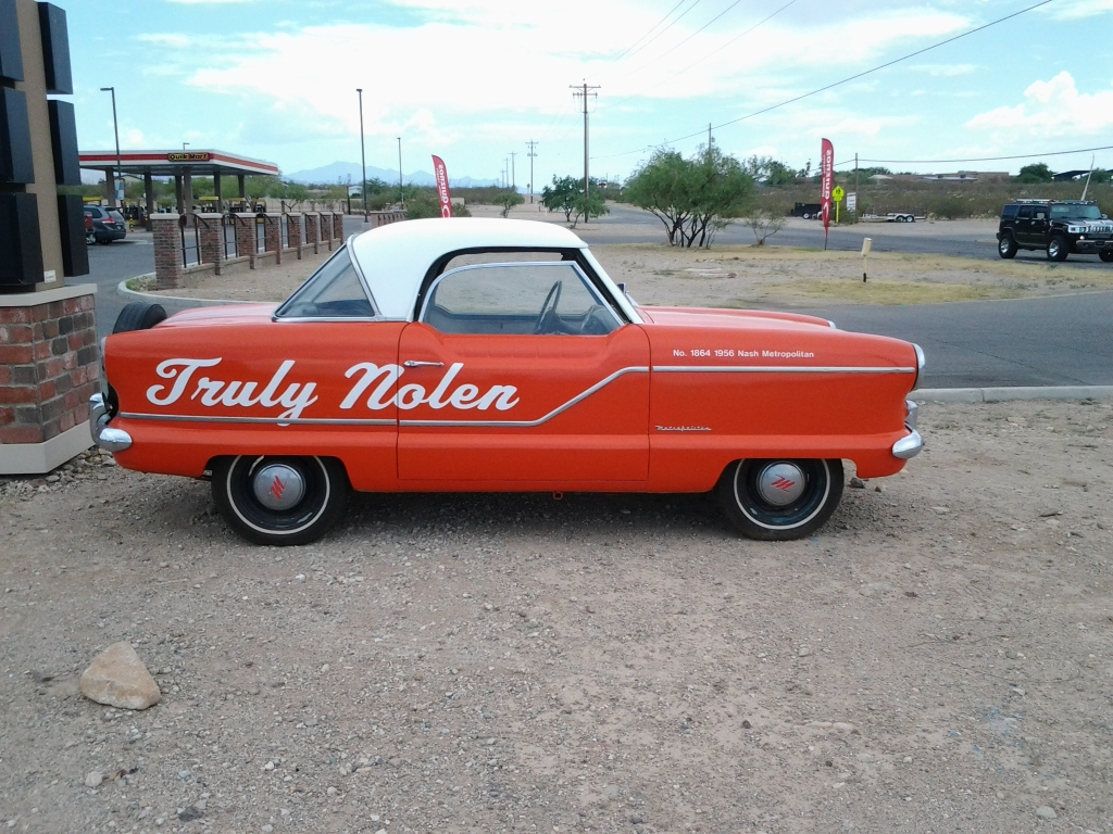 Truly Nolen Vintage Car