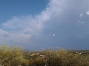 clouds in arizona