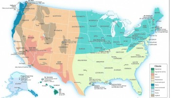 What Is My Plant Hardiness Zone USDA Climate Plant Growing Zone - Map of growing zones in the us