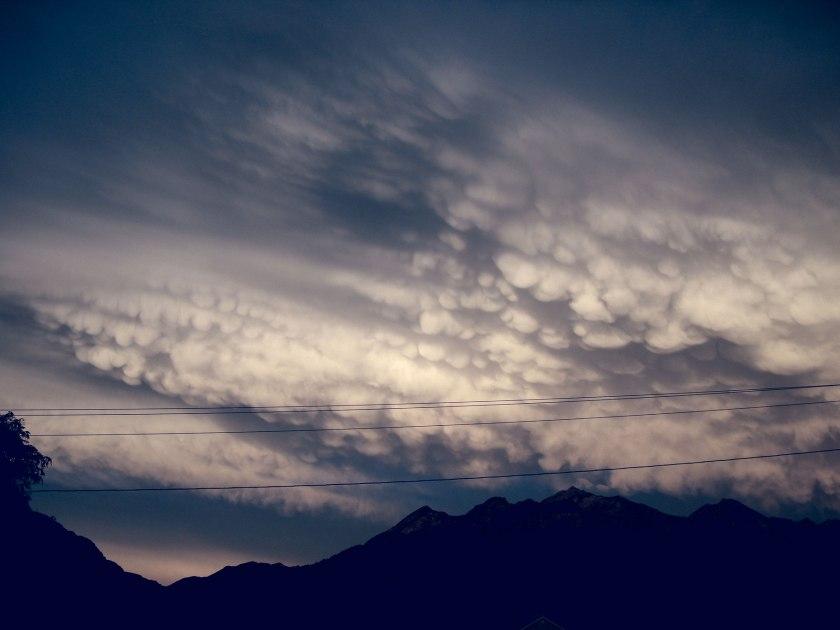 storm clouds cumulus