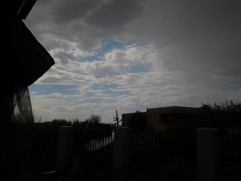 Microburst Storm Arizona Monsoon