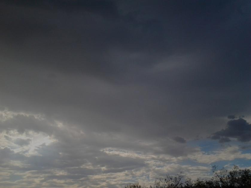Monsoon Microburst clouds