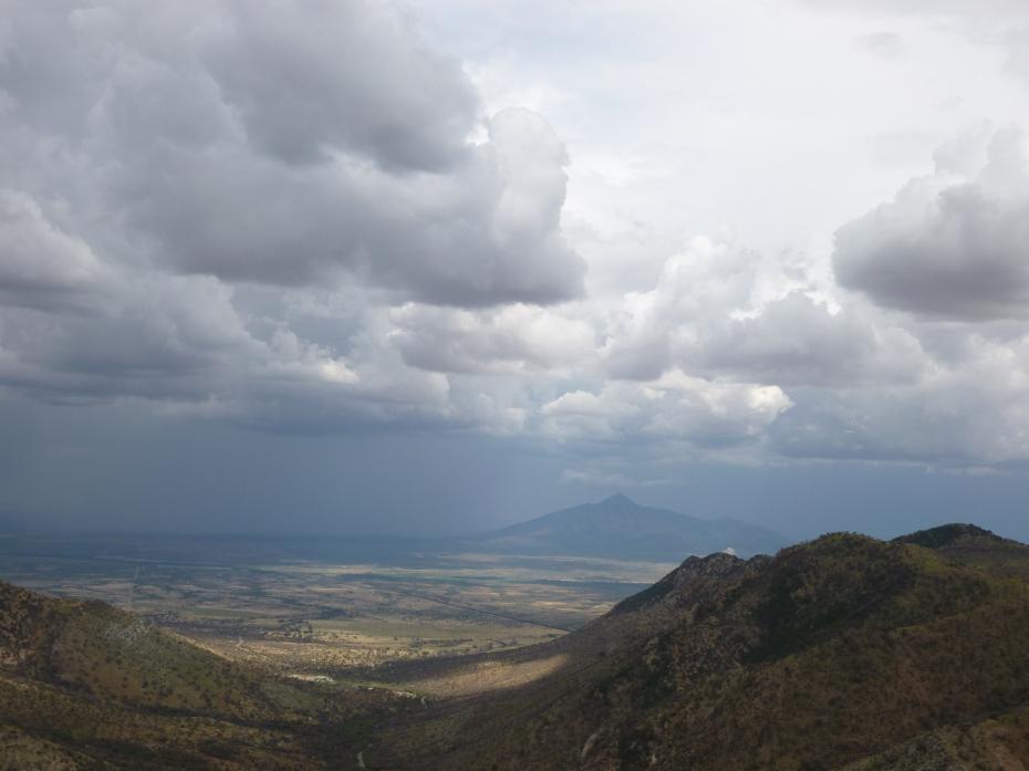 Arizona monsoon storm cloud