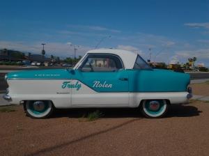Vintage automobiles in Tucson