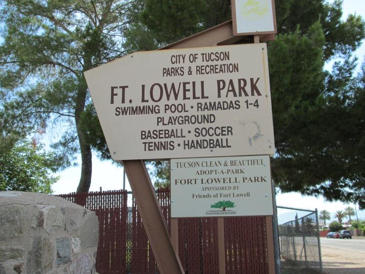 tennis handball swimming park in the Arizona desert