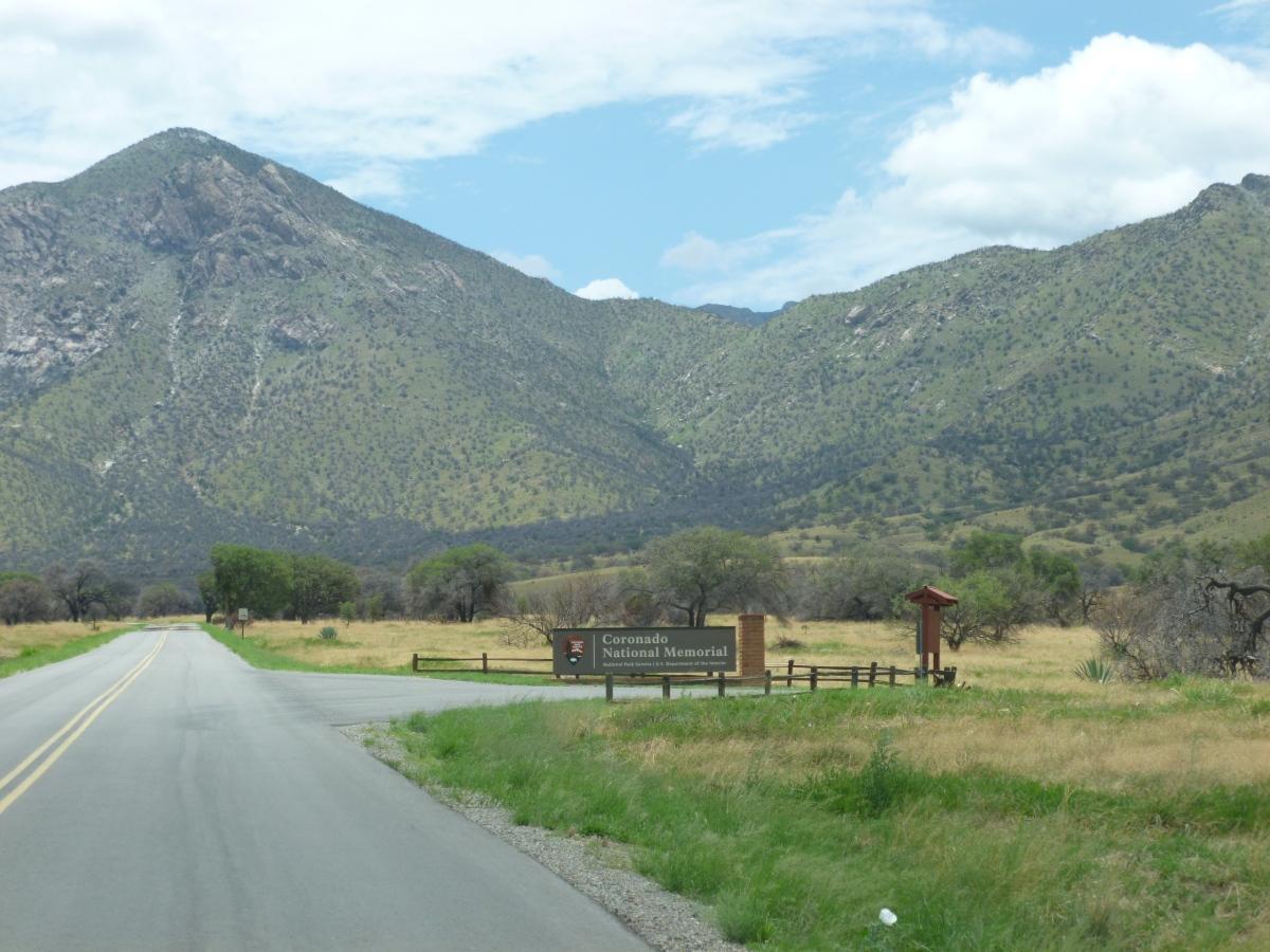 Coronado National Memorial in the Huachuca Mountain range of the Coronado National Forest,Arizona