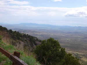 Coronado Peak overlook