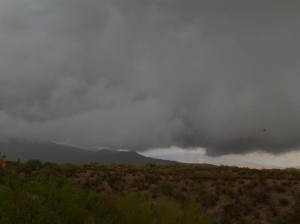 Tucson Monsoon weather