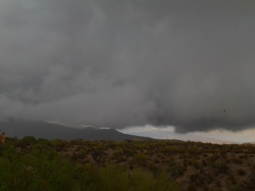 Tucson Phoenix Monsoon weather