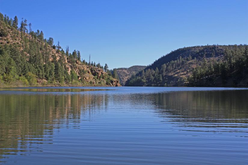 Chevelon Canyon Lake and Ranch in NorthernArizona