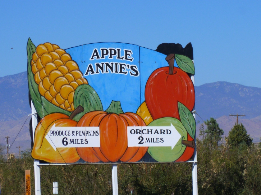 Apple Annies Orchard - Willcox, Arizona