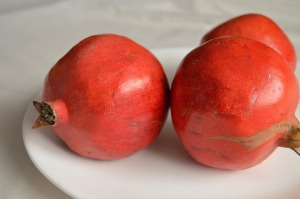 punica granatum red fruit
